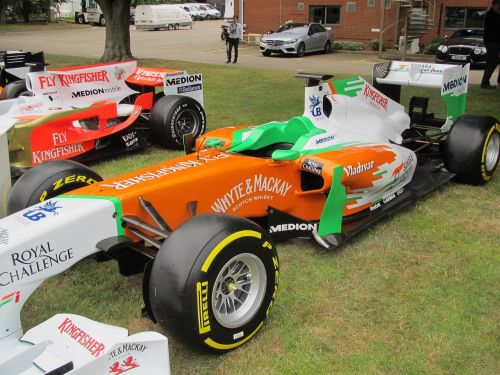 race care force india f1