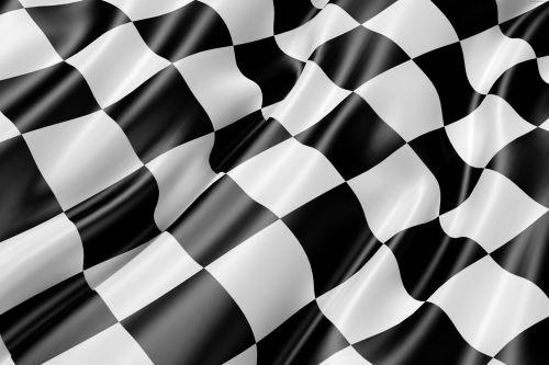 Race Track Flag