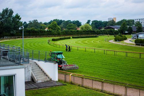 racecourse repair lawn lawn work