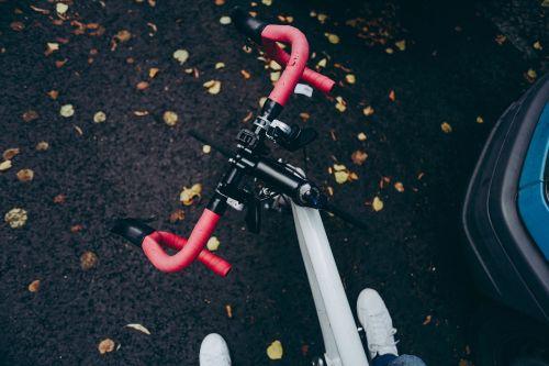 racer bike bicycle foot