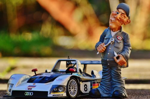 racing car mechanic repair