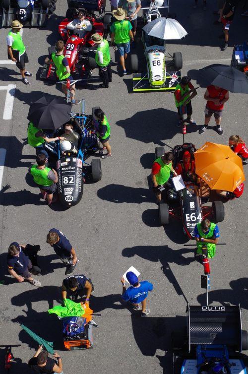 racing car summer event