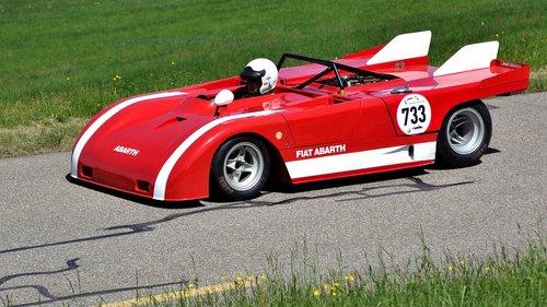racing car  hillclimb  fiat abarth proto se 021