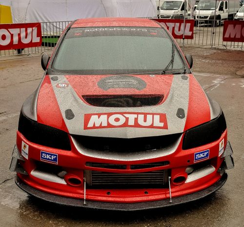 racing car mitsubishi tuning