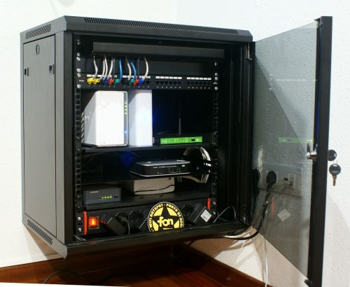 rack cabinet computing router