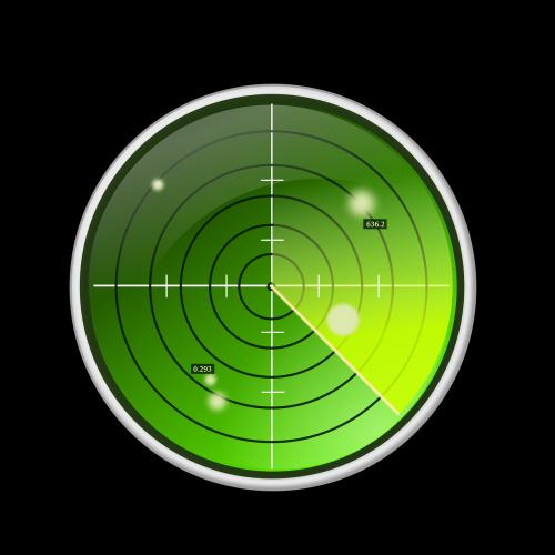 radar green blips