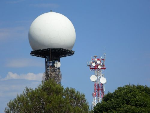 radar radar station masts