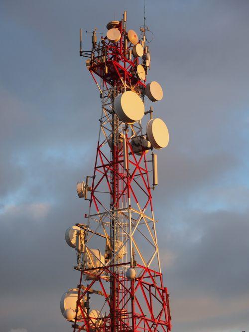radar equipment antennas radio tower