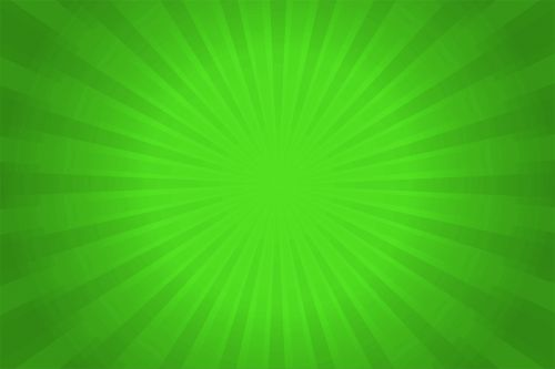 radial green background