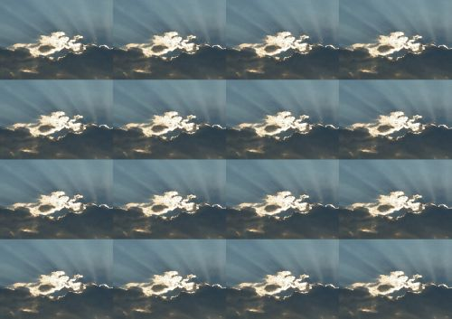 Radiating Sunbeams Wallpaper