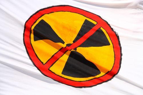 radiation flag radioactive