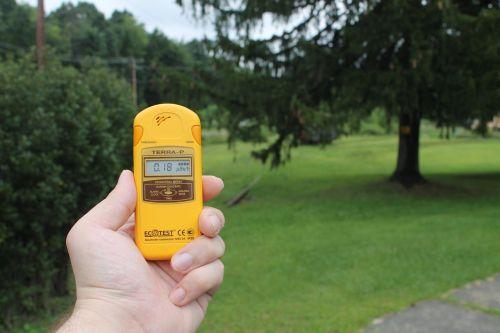 radiation dosimeter nature