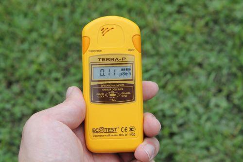 radiation dosimeter ecology