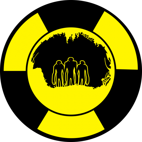 radiation characters tunnel