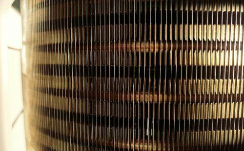 radiator fins metal