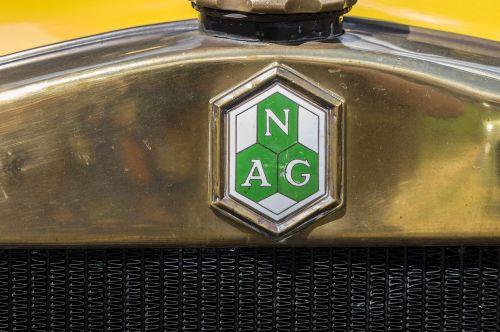 radiator emblem nag automotive