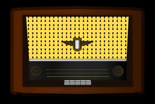 radio old fashioned retro