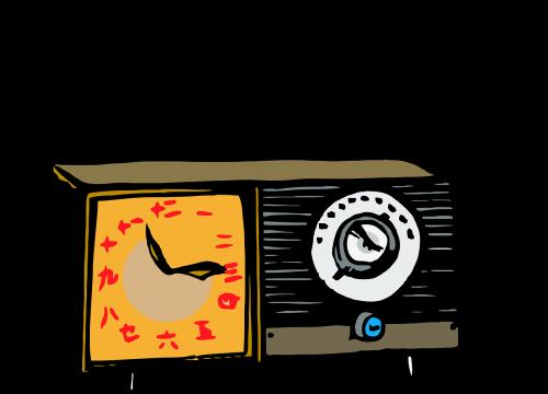 radio asian retro