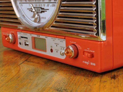 radio volume vintage