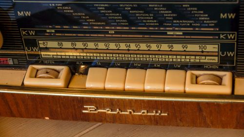 radio vintage old
