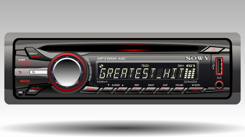 radio for car technology realistic