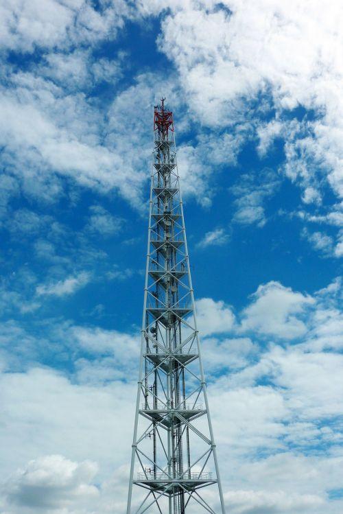 radio mast mobile transmission tower