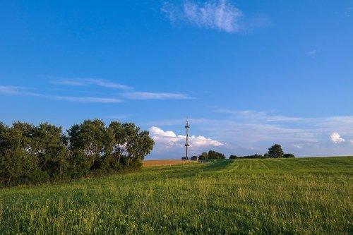 radio mast  transmission tower  transmitter