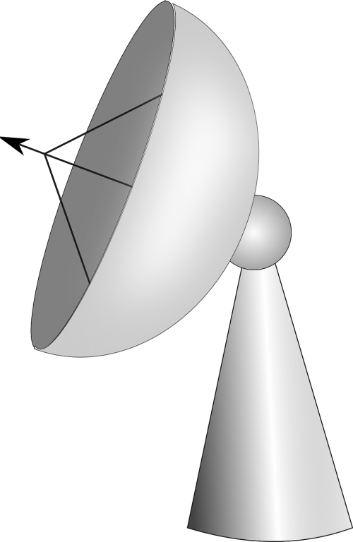 radio telescope radar dish communication