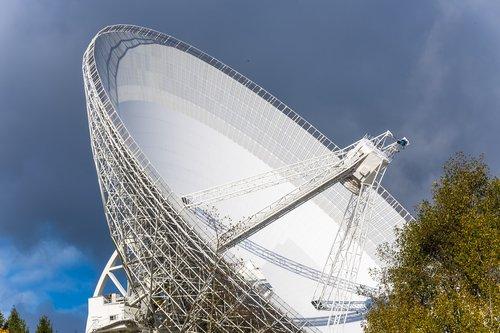 radio telescope  eifel  effelsberg