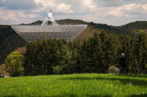 radio telescope effelsberg photographer