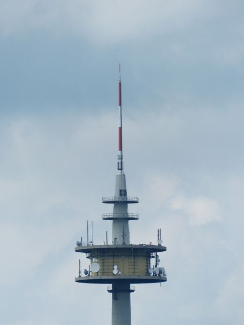 radio tower transmission tower send platform