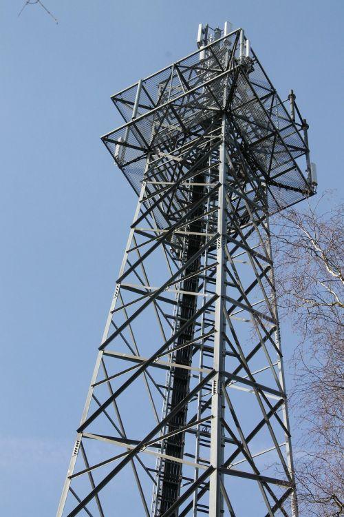 radio tower handy funkturm send system