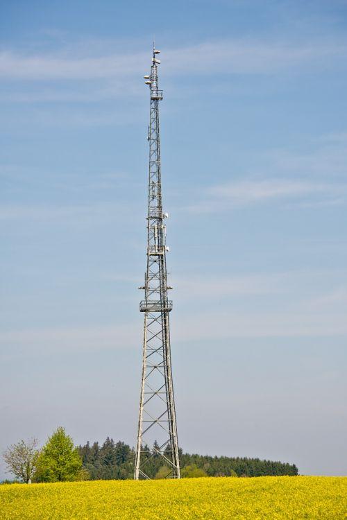 radio tower radio mast transmission tower