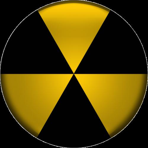 radioactive icon design