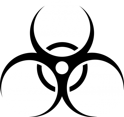 radioactive danger warning
