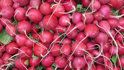 radishes market food