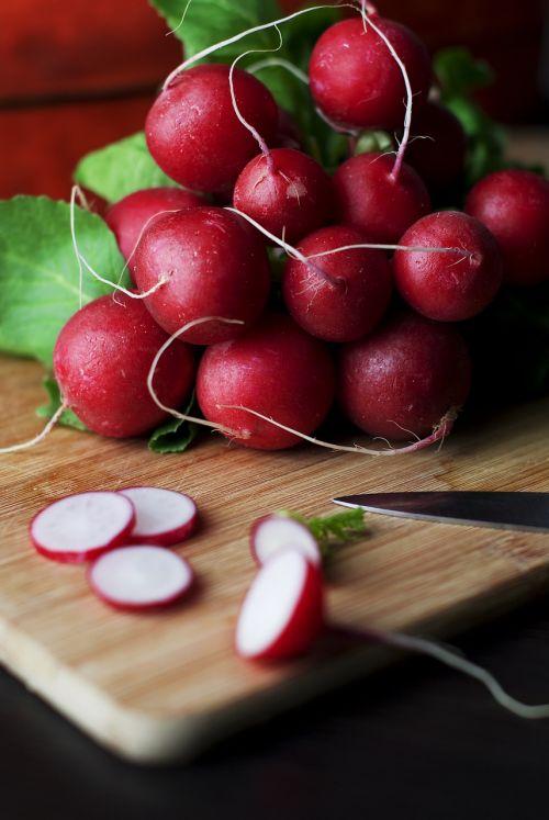 radishes vegatables food