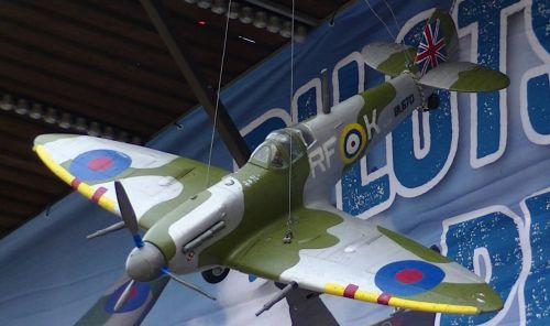 RAF Spitfire Plane Model