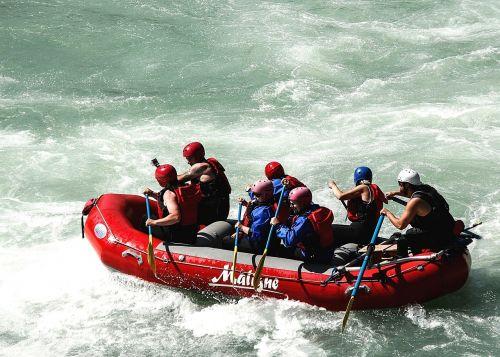 raft whitewater raft boat