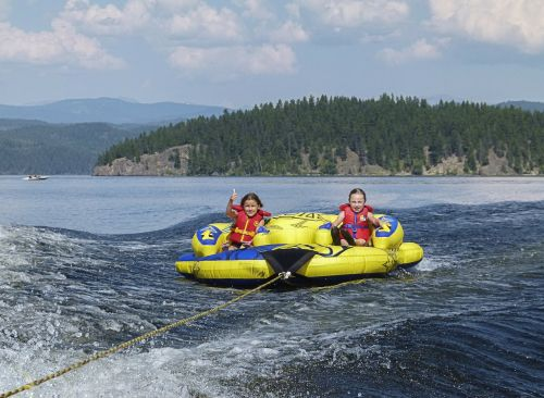 rafting kids inner tube