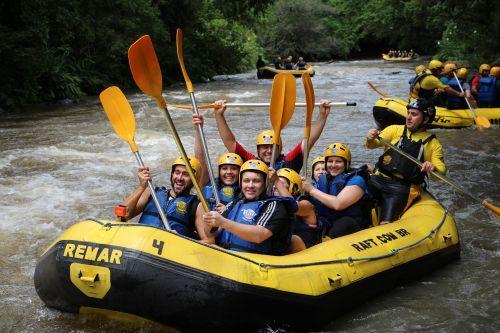rafting boat rapids