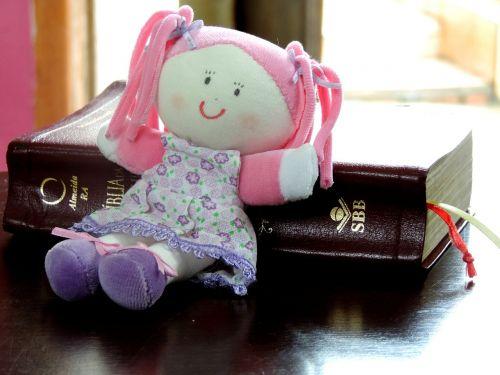 rag doll doll child