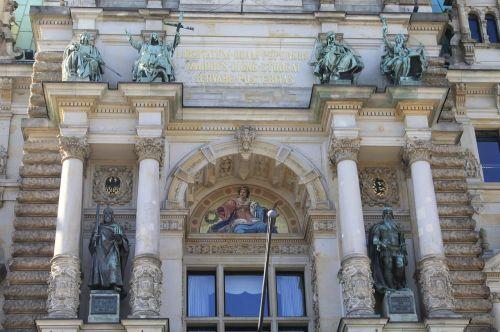 rahthaus hamburg facade