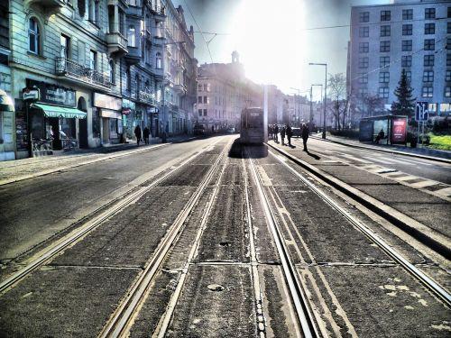 tram prague electro train