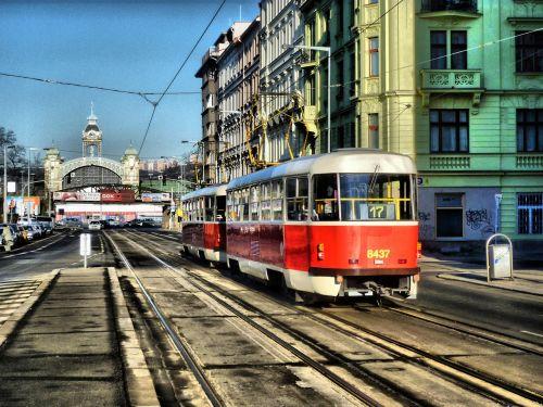rail prague electro train