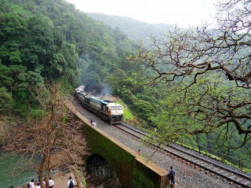 rail track locomotive railroad