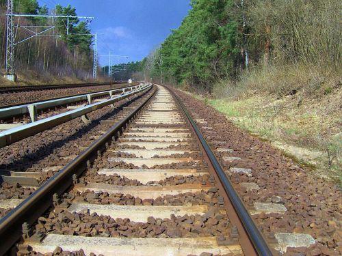 rail track seemed gleise