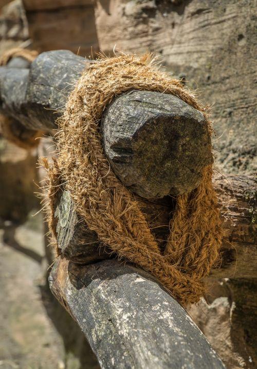 railing rope jungle