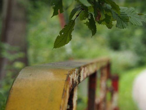 railing bridge iron