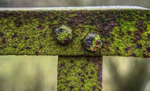 railing  bridge  rusty